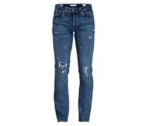 Destroyed-Jeans CASH Regular Fit