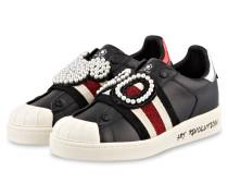 Sneaker - SCHWARZ/ CREME/ ROT