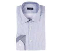 Hemd TET2 Slim-Fit - blau/ weiss