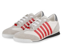 Sneaker NEW RUNNER - WEISS/ HELLGRAU/ ROT