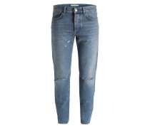 Destroyed-Jeans Slim Fit