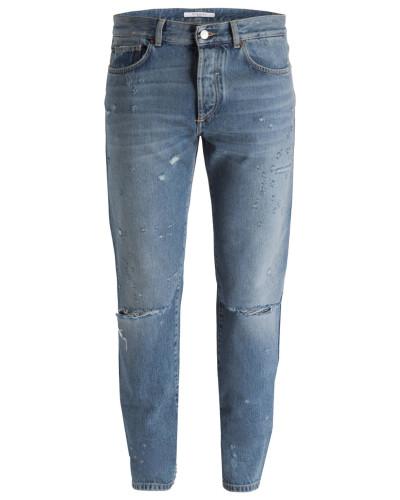 Destroyed-Jeans Slim Fit