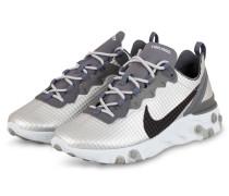 Sneaker REACT 55 PREMIUM - SILBER/ GRAU