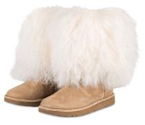 Fell-Boots LIDA - BEIGE