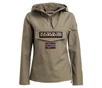 Schlupfjacke RAINFOREST - khaki