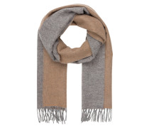 Cashmere-Schal im Double-Face-Design