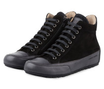 Hightop-Sneaker PLUS SPORT - SCHWARZ