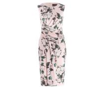 Kleid CAM - hellrosa/ grün