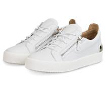 Sneaker FRANKIE STEEL - WEISS/ SILBER