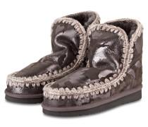 Fell-Boots ESKIMO - GRAU / SILBER