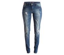 Destroyed-Jeans EBONY