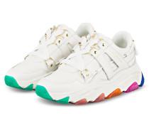 Plateau-Sneaker LETTIE - WEISS