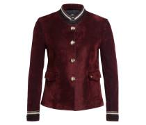 Blazer-Jacke aus Samt