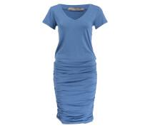 Jerseykleid FOUNDATION - blau