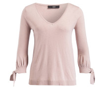 Pullover mit 3/4-Arm - rosa