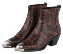 Cowboy Boots FLOYD - DUNKELBRAUN/ BRAUN