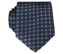 Krawatte - schwarz/ blau