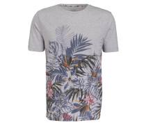 T-Shirt Casual modern fit - hellgrau