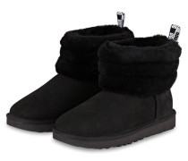 Boots FLUFF MINI QUILTED - SCHWARZ