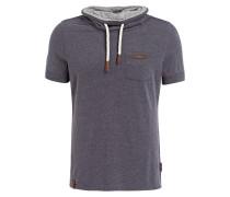 T-Shirt - blaugrau