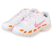 Sneaker P-6000 - WEISS/ ORANGE/ PINK
