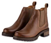 Chelsea-Boots MONIKA - BRAUN