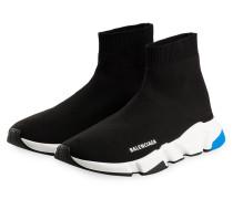 Hightop-Sneaker SPEED - SCHWARZ/ WEISS