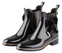 Gummi-Boots GINGER - schwarz