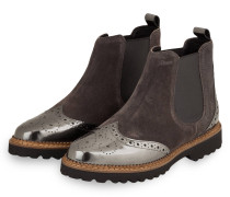 Chelsea-Boots VESELKA - TAUPE/ DUNKELGRAU