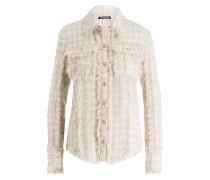 Tweed-Bluse