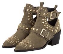 Cowboy Boots SYBIL - KHAKI