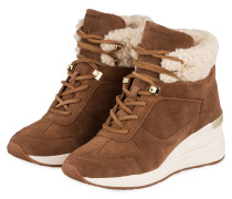 Plateau-Hightop-Sneaker LIV - CARAMEL