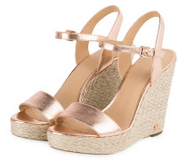 Wedges JILL - SOFT PINK