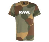 T-Shirt ZOST - khaki/ oliv/ camel