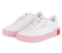 Sneaker CALI - WEISS/ HELLROSA