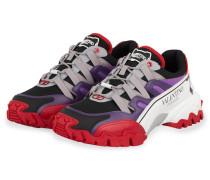 Sneaker CLIMBERS - WEISS/ ROT/ LILA