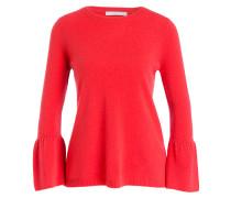 Cashmere-Pullover - koralle