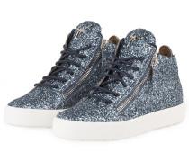 Hightop-Sneaker - HELLBLAU