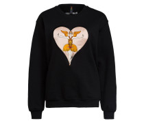 Sweatshirt ERTE HEART APPLIQUE