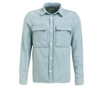 Overshirt Regular-Fit in Jeans-Optik