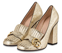 College-Pumps - GOLD
