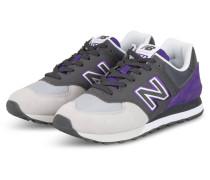 Sneaker ML574 - GRAU/ LILA/ HELLGRAU