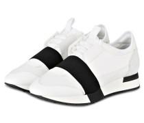 Sneaker RACE RUNNER - WEISS/ SCHWARZ