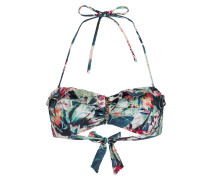 Bandeau-Bikini-Top FLORAL CAMO