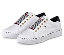Slip-on-Sneaker - WEISS/ DUNKELGRAU
