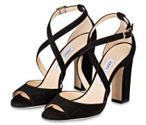 Sandaletten CARRIE 100 - SCHWARZ
