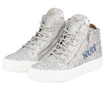 Hightop-Sneaker - SILBER