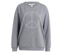 Sweatshirt PEACE - grau