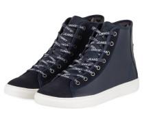 Hightop-Sneaker - DUNKELBLAU