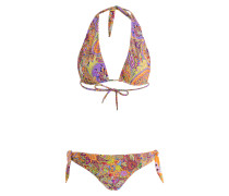 Neckholder-Bikini zum Wenden